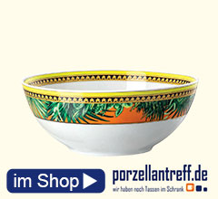 Rosenthal Versace Jungle Animalier Müslischale d: 15 cm / 0,58 L